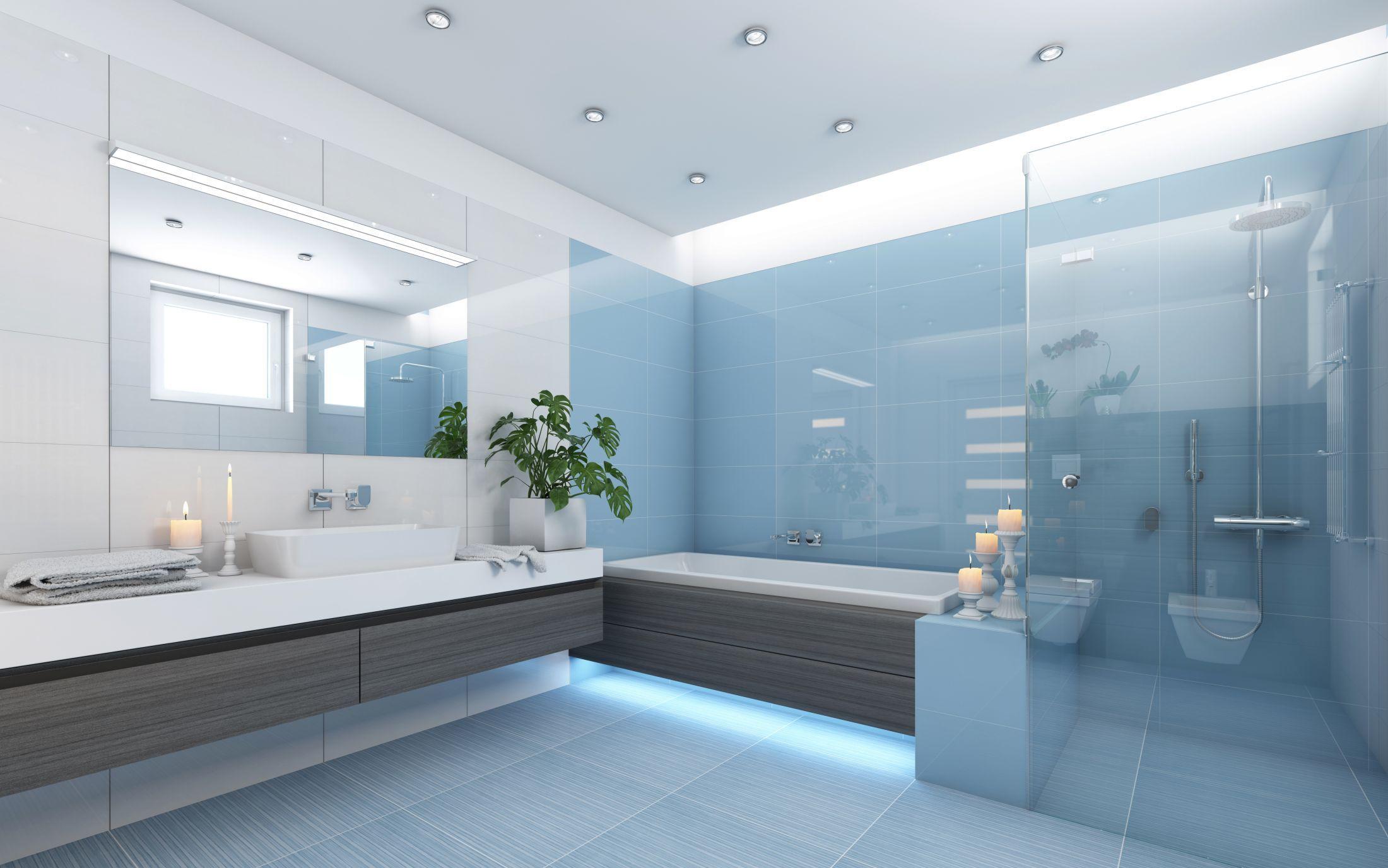 Glas für Ihr Badezimmer   Duschwände vom Glaser aus der ...